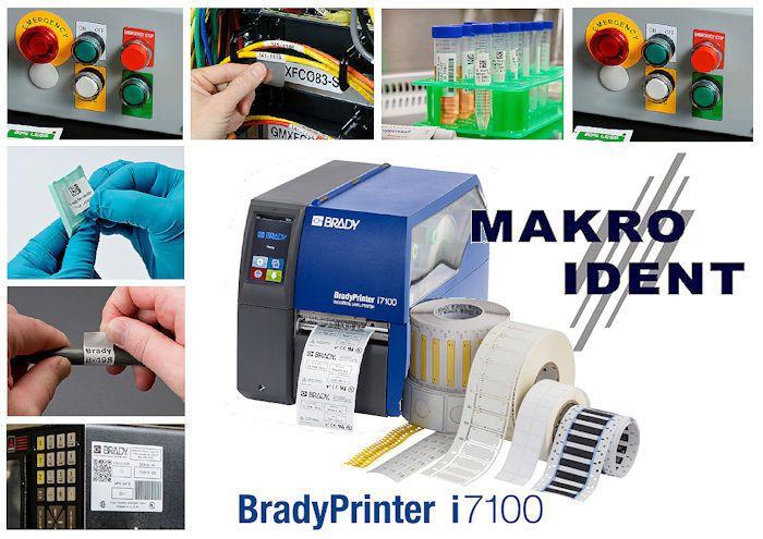 Industrie-Etikettendrucker BradyPrinter i7100 für Anspruchsvolle