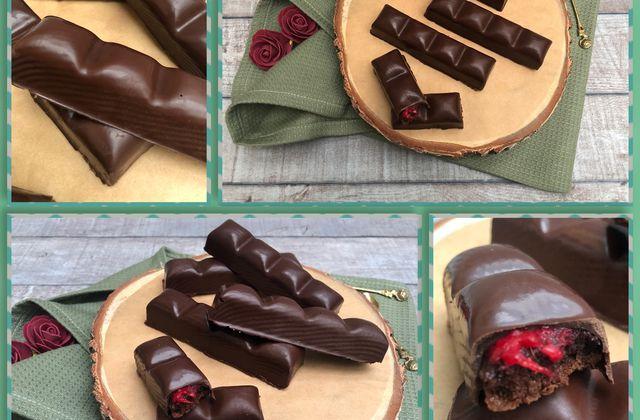 Barre chocolatée façon Pim's framboise 🍫