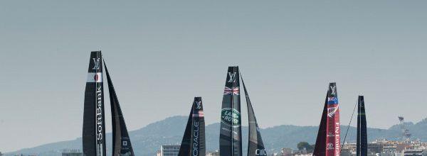 La Coupe Louis Vuitton et la Coupe de l'American sur les antennes du GROUPE CANAL
