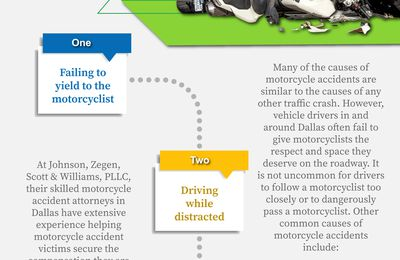 What Causes Dallas Motorcycle Accidents?
