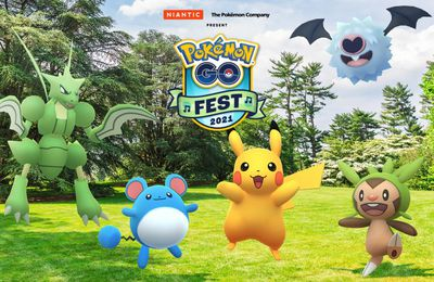 Sortez vos agendas : le Pokémon GO Fest 2021 revient en juillet !