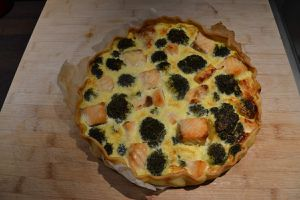 QUICHE SAUMON BROCOLI WEIGHT WATCHERS