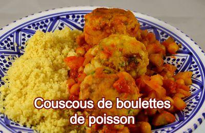 Couscous de boulettes de poisson