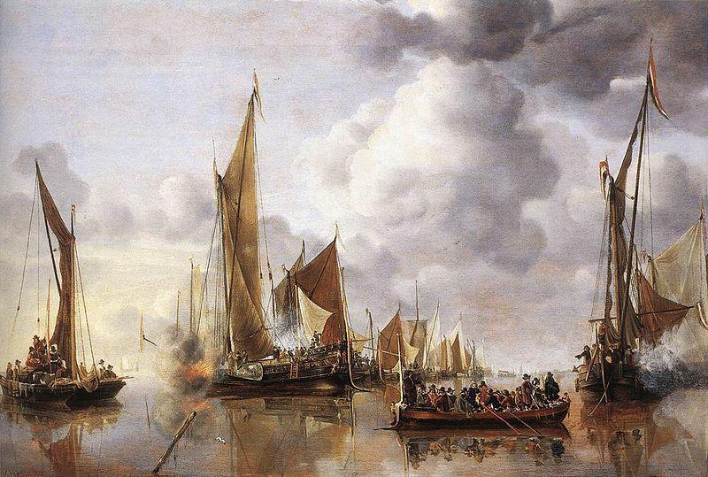 Watteau - Fragonard - Van de Cappelle (XVIII°) Académiques