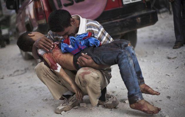 En Syrie on pratique une guerre d'épuisement et d'anéantissement