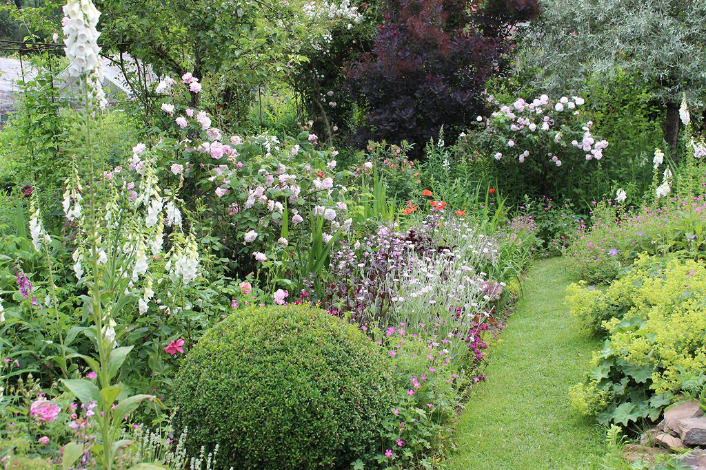 Gros coup de coeur pour le jardin de Françoise Linion.