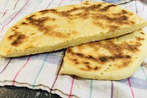 Galette Kesra - Pain algérien à la semoule de blé