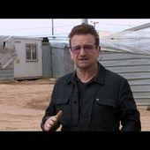 Bono en Live au Camp de réfugiés en Jordanie - U2 BLOG