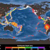 Nombre record de séismes au mois d'Avril
