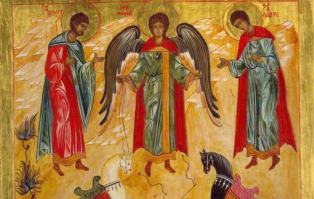 29 septembre - Fête des saints St Michel, Gabriel, Raphaël, archanges
