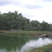 Crue de la Seine sur les Hautes-Garennes à Mantes la Jolie. - eco quartier fluvial Mantes Rosny l'autre echo du quartier fluvial