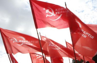 L'anticommunisme continue en Ukraine!