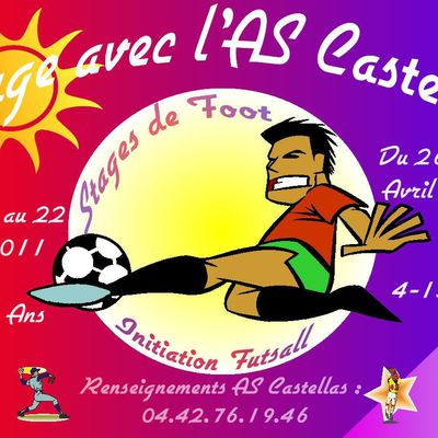 Bienvenue sur le site officiel de l'AS Castellas