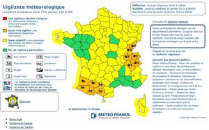 Alerte orange vent et innondation