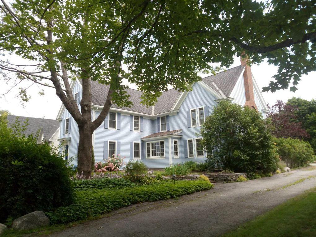 Une petite galerie photos des jolies maisons de la côte Est.