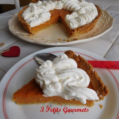 Sweet potato pie (Tarte aux patates douces)
