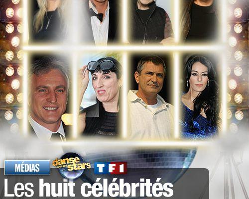 Les 8 célébrités qui danseront en direct sur TF1 !