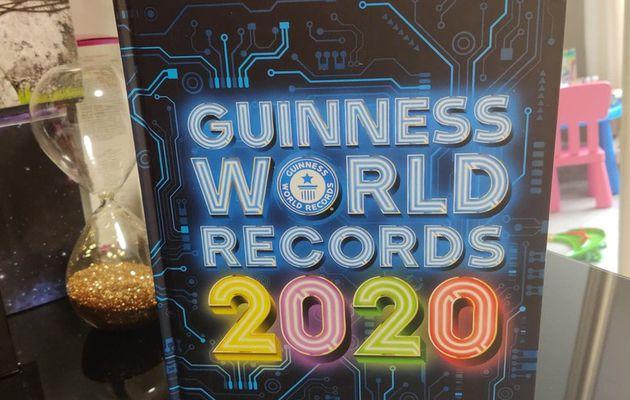 Le Guinness Record World 2020 sera sous le sapin cette année !