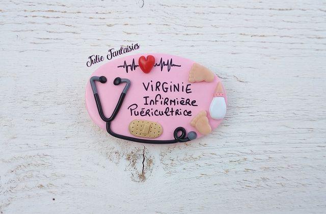 Badge pour Virginie