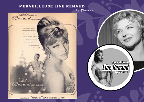 DOCUMENTS: Promo Presse Line Renaud now starring Casino de Paris (USA)