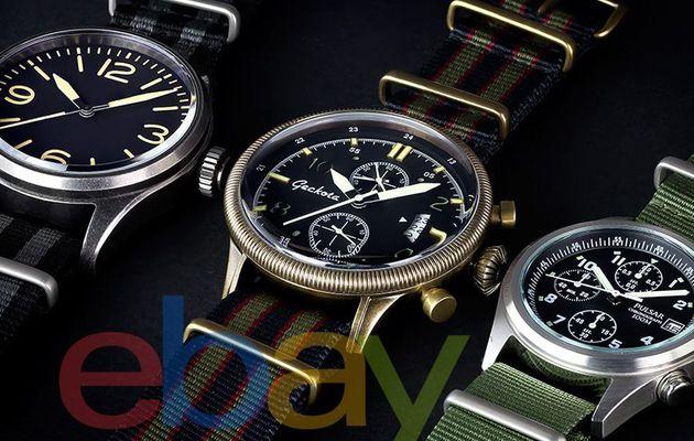 Có nên mua đồng hồ trên web Ebay Mỹ không?