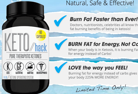 Keto Hack - It's Time To Be Bold And Burn Fat With Keto!