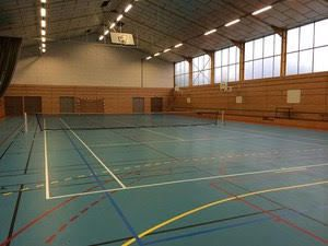 Reprise des activités sportives du centre Social au Gymnase de Nexon.