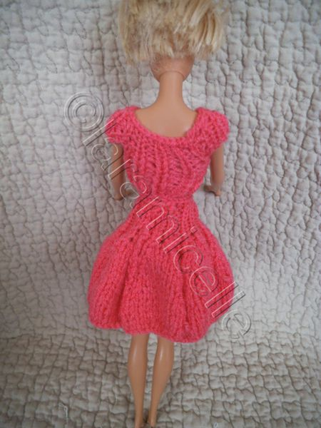 tuto jupe corolle et haut pour Barbie