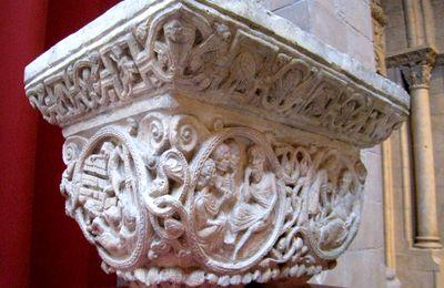 Chapiteaux du cloître de l'église priorale Notre-Dame de la Daurade (4/4)