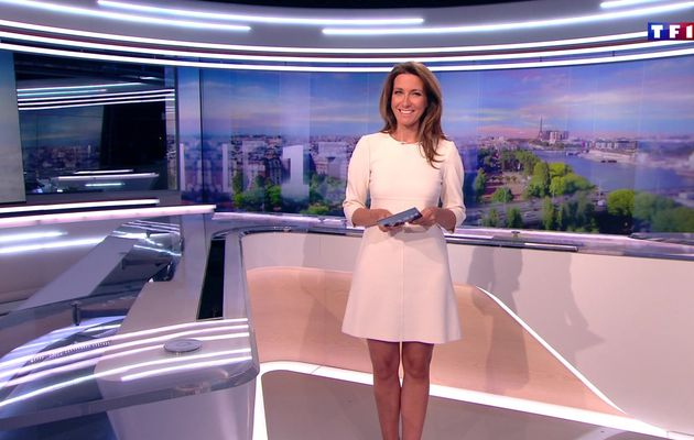 📸9 ANNE-CLAIRE COUDRAY @ACCoudray @TF1 @TF1LeJT pour LE 13H WEEK-END #vuesalatele