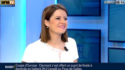 2013 01 20 - GRAZIELLA RODRIGUEZ - BFM TV - WEEK-END PREMIERE @08H00