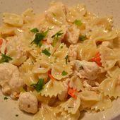 Farfalles poulet Boursin recette cookeo |