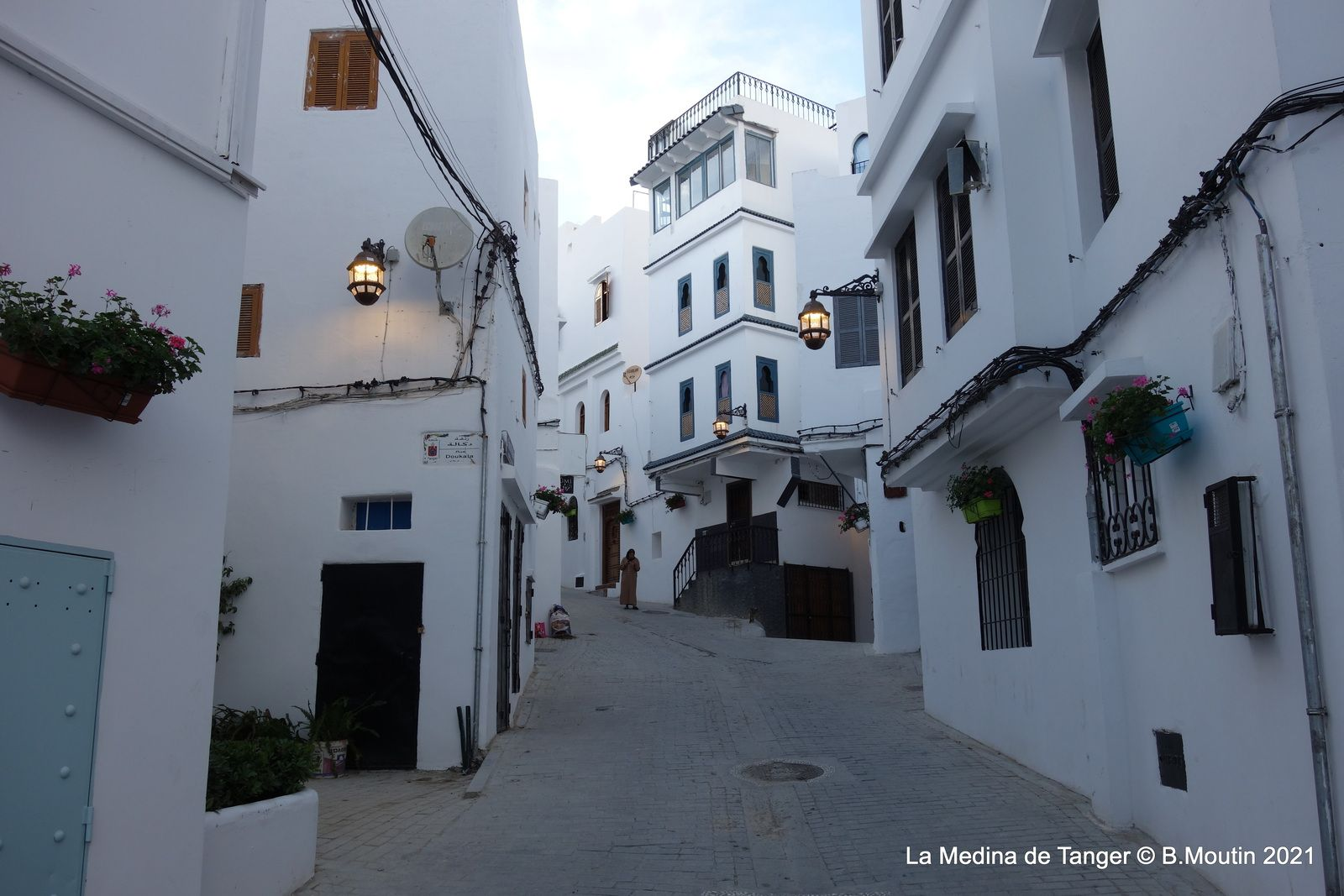 Les nouveaux luminaires de la Medina de Tanger