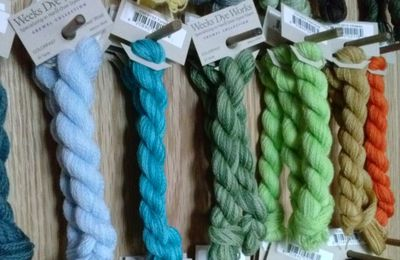 Hilo de lana Crewel Wool de Weeks dye Works