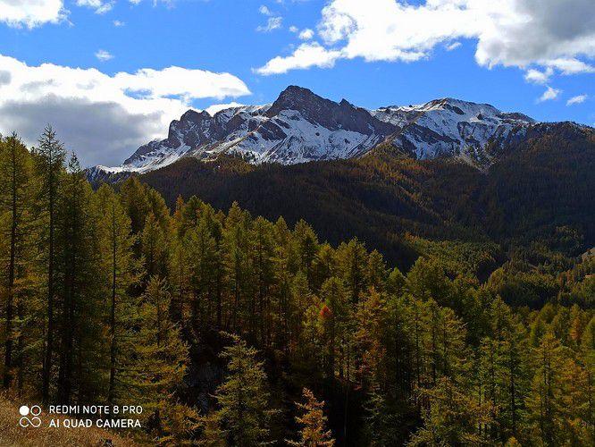 Les montagnes du Queyras.
