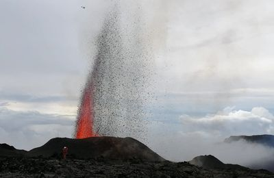 Update on the La Fournaise, La Soufrière and Reykjanes eruptions.