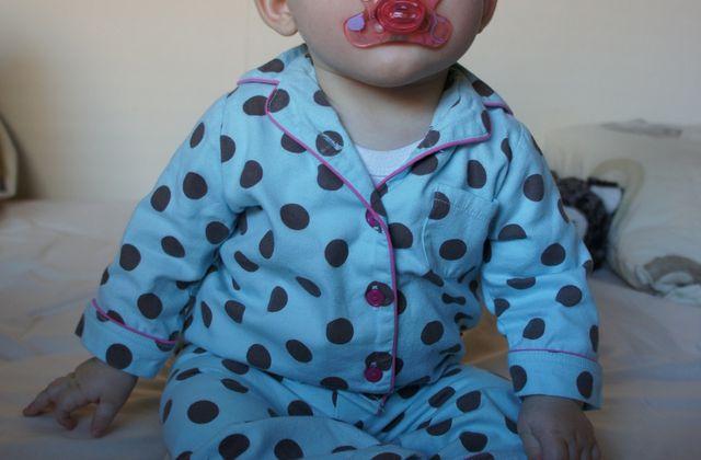 Le pyjama à pois