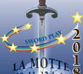 12ème édition des jeux d'épée ; 7 au 09 août 2020 à La Motte