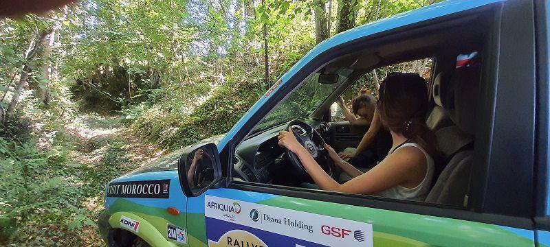 Equipage 129 rallye gazelles 2021, Anne Sophie et Perrine, entrainement 4x4 avant le départ