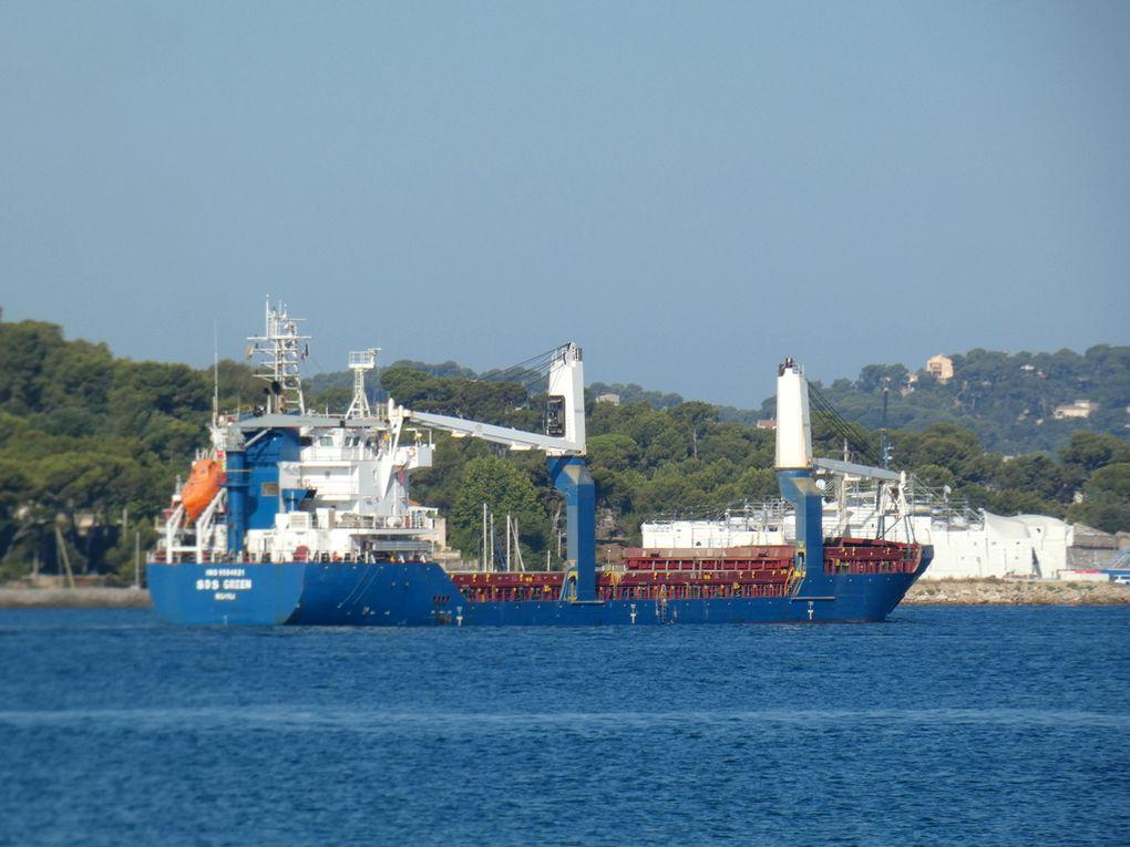 SDS GREEN , arrivant au port de Toulon le 27 juillet 2020