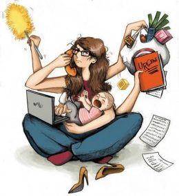 La naissance d'une maman