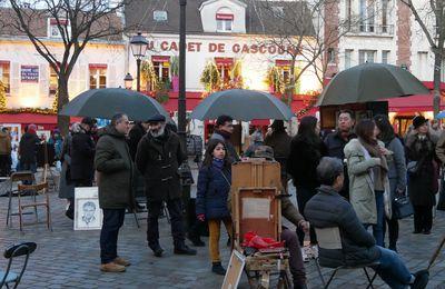 Au Cadet de Gascogne. Place du Tertre Montmartre.