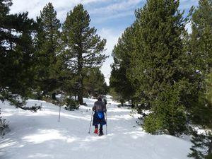 Séjour neige Beille Mars 2020 3e jour