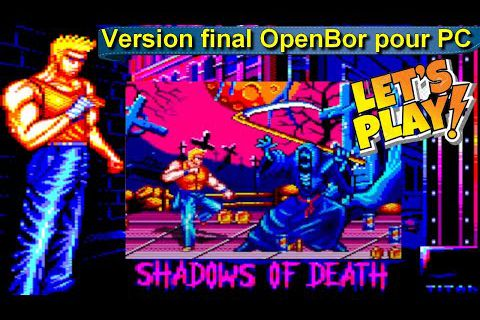 Amstrad CPC Let's Play - Shadow Of Death (Version final OpenBor pour Windows !!!)