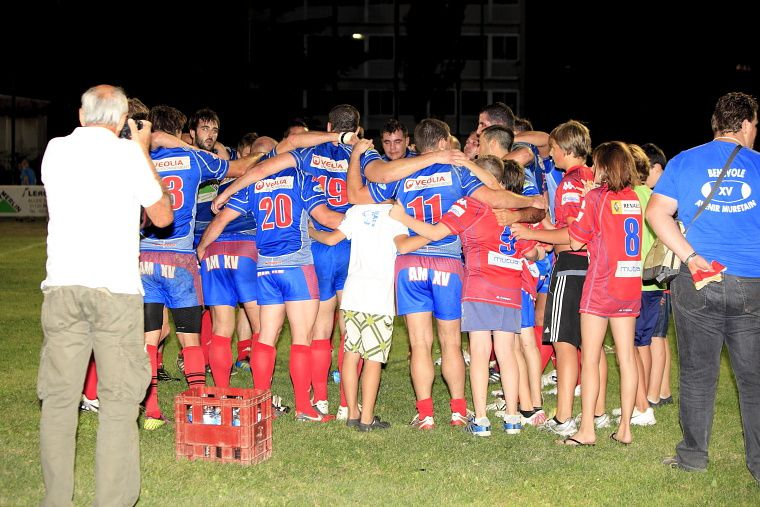 Match de rugby F3 Avenir Muretain XV / GAN Match du samedi 01 octobre 2011