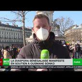 A Paris, la diaspora sénégalaise manifeste son soutien à l'opposant Ousmane Sonko