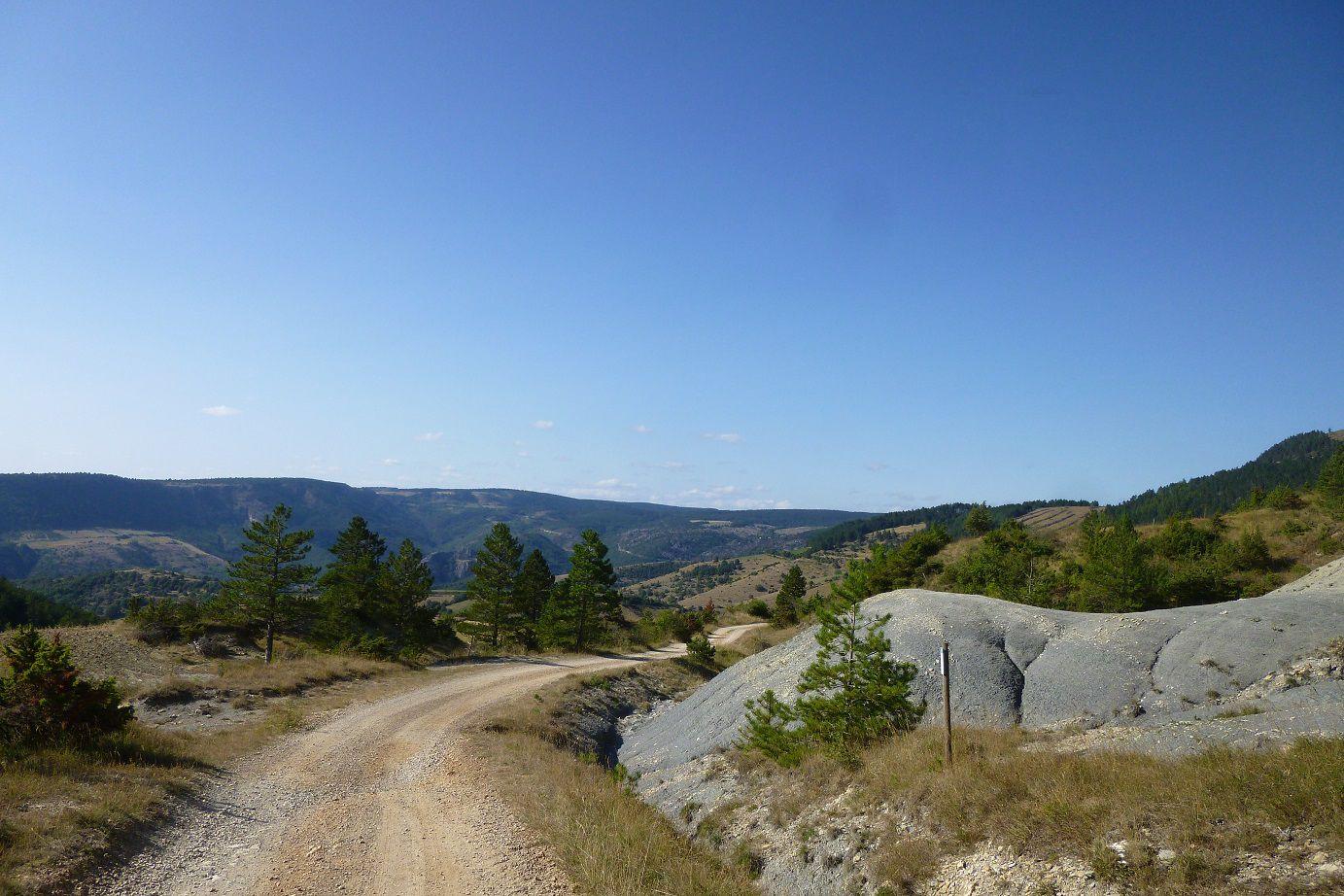 Randonnée à Mont Méjan en Lozère.