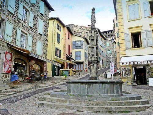 Arrêt au Puy en Velay
