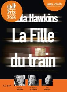 La fille du train de Paula Hawkins (livre audio)