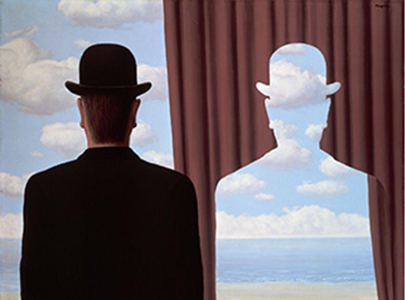 le defi 657  du magazine Passion Créatif : s'inspirer de René Magritte!!